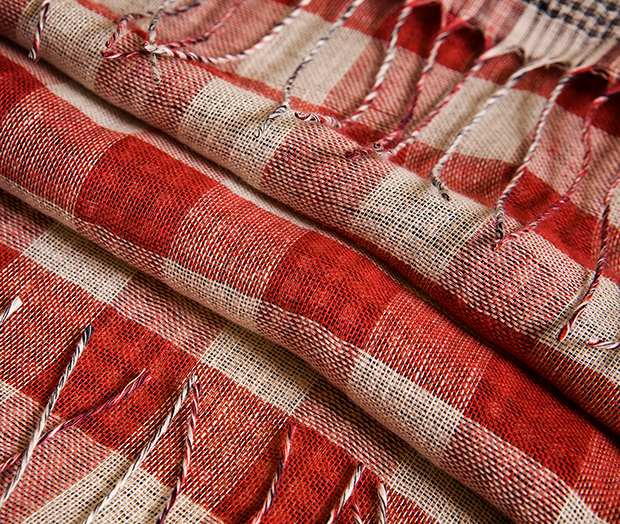 GUISEPPE Black/Red/White Check